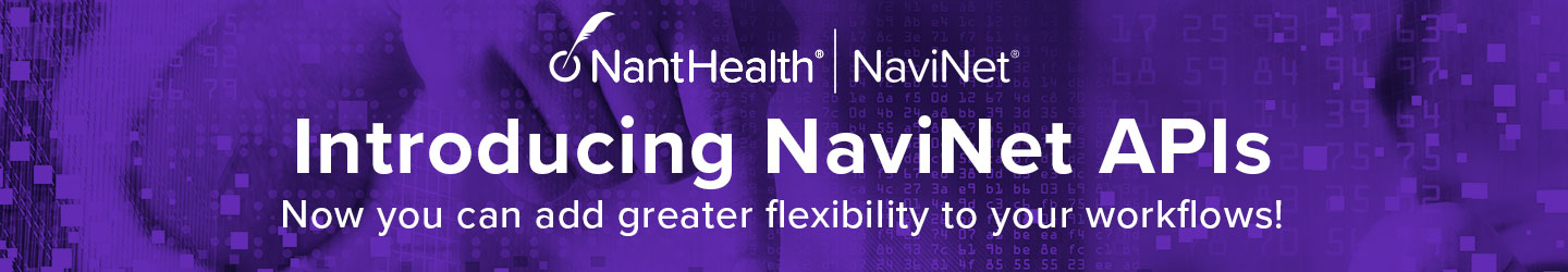 Introducing NaviNet APIs: Now you can add greater flexibility to your workflows!